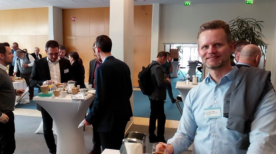 Johan Siden at the Fiber to the home Conference 2017