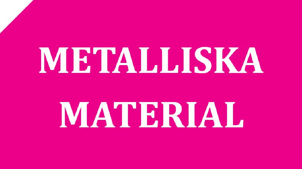 Logotyp Metalliska material