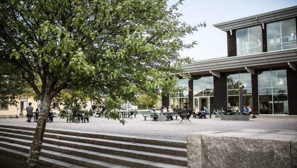 Campus Östersund fasad hus