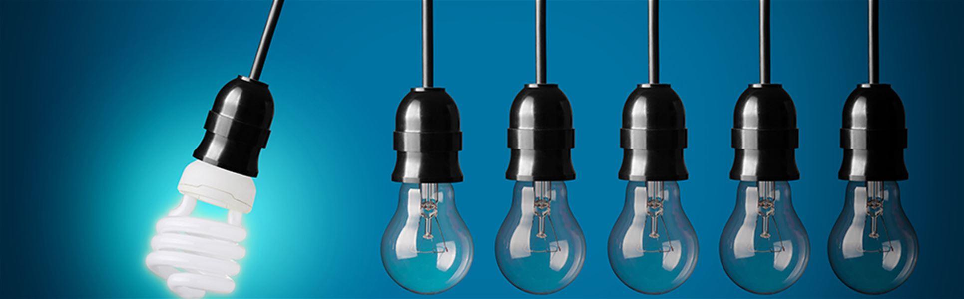 Glödlampa glödlampor energilampa
