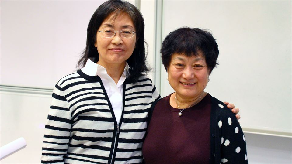 Prof. Tingting Zhang and Prof. Minjie Zhang
