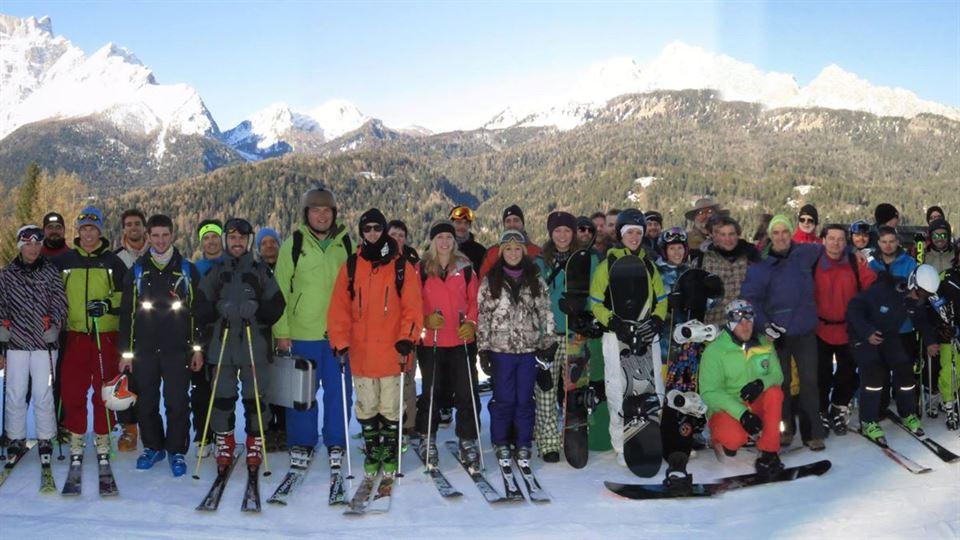 Studenter och lärare vid ISEA Winter School 2015