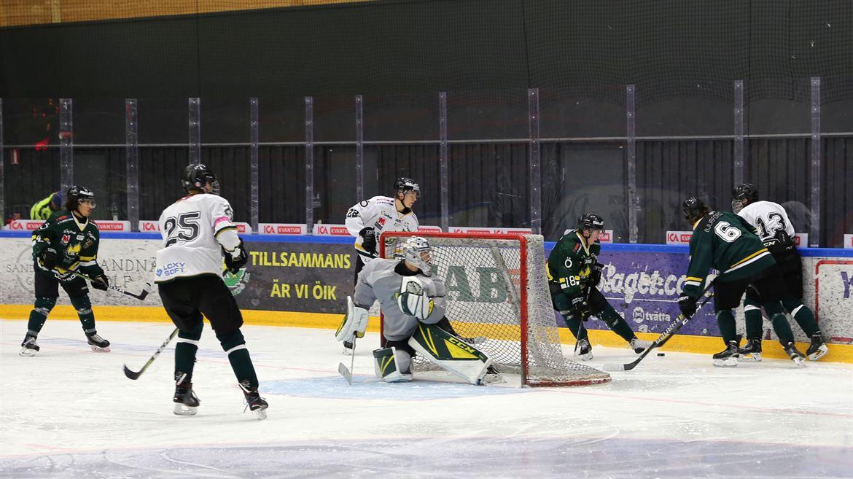 Hockeymacth i Östersund.
