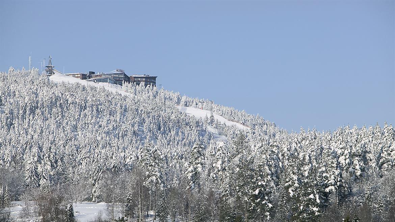 vy över hotell södra berget