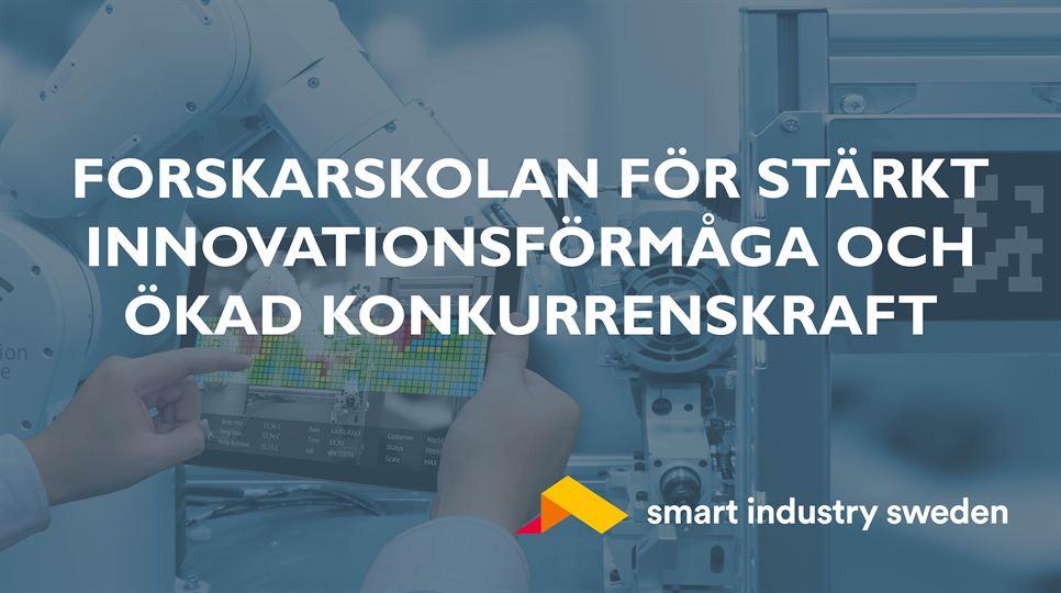 Smart Industry Sweden företagsforskarskola