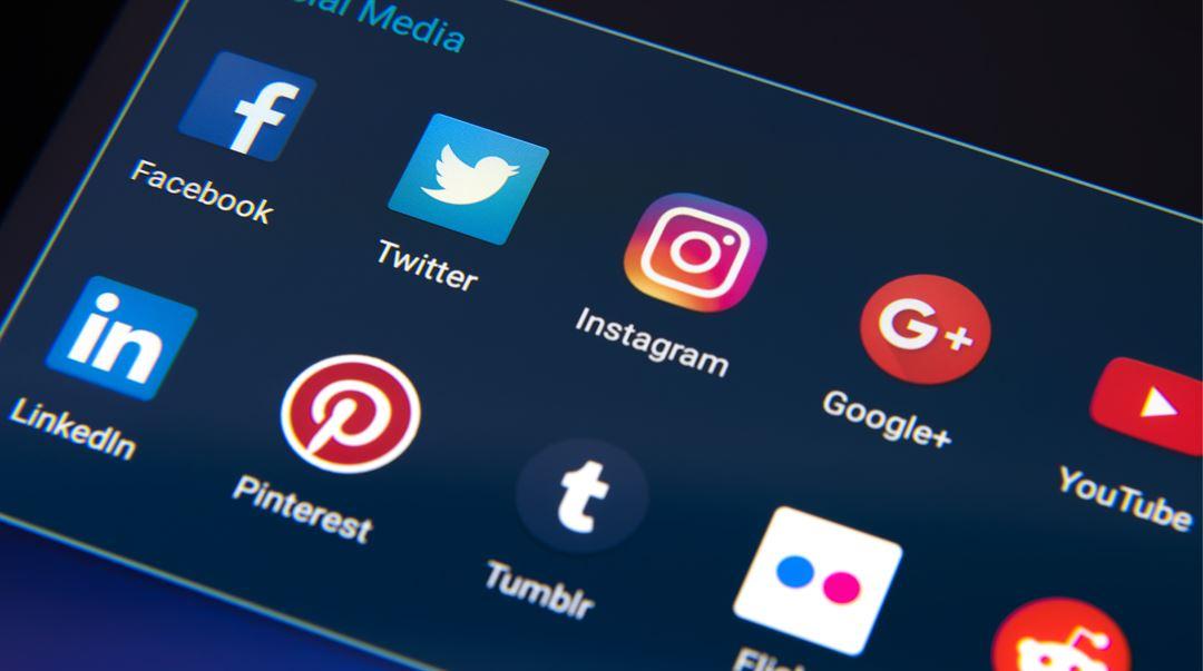 sociala medier appar