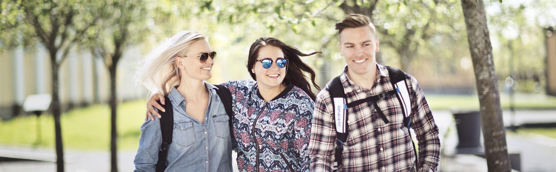 Studenter på Campus Östersund