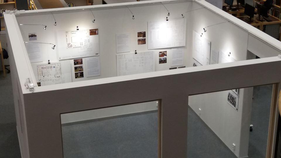 Utställningsyta biblioteket Östersund