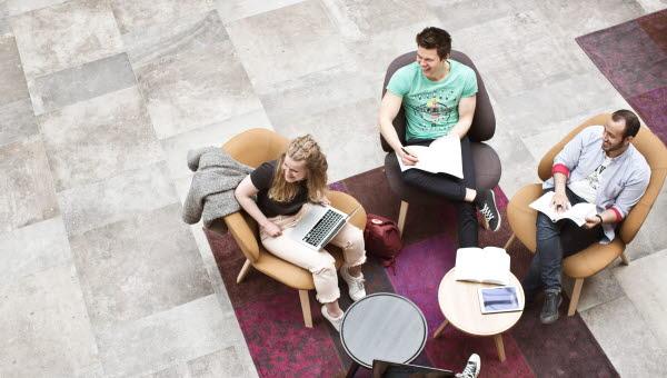Studiesituation, A-huset/Grönborg, Sundsvall
