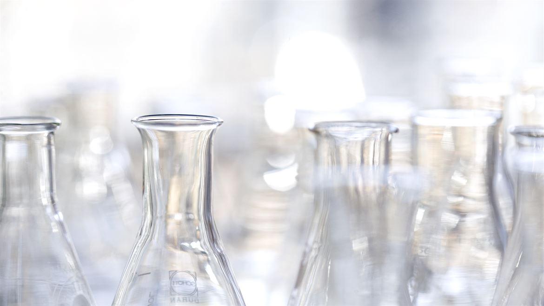 Provglasflaskor