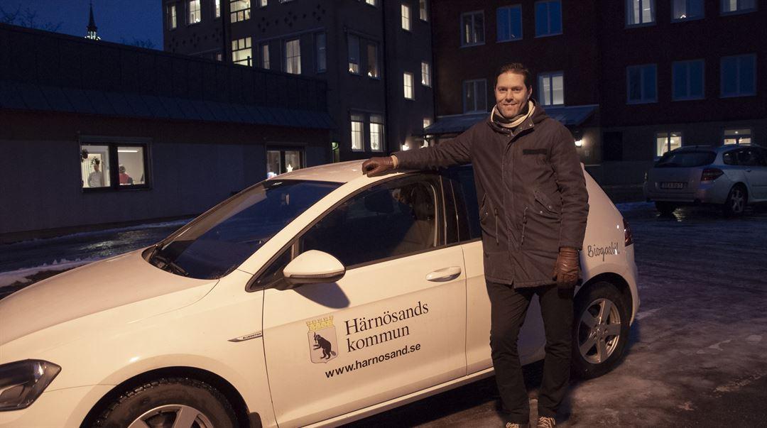 Fredrik Mattsson, verksamhetschef hemtjänst och hemsjukvård Härnösands kommun