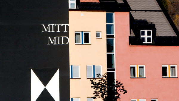 Exteriör Campus Sundsvall