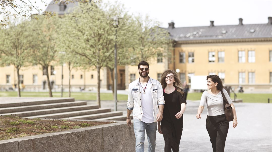 Studenter, utomhus, Östersund