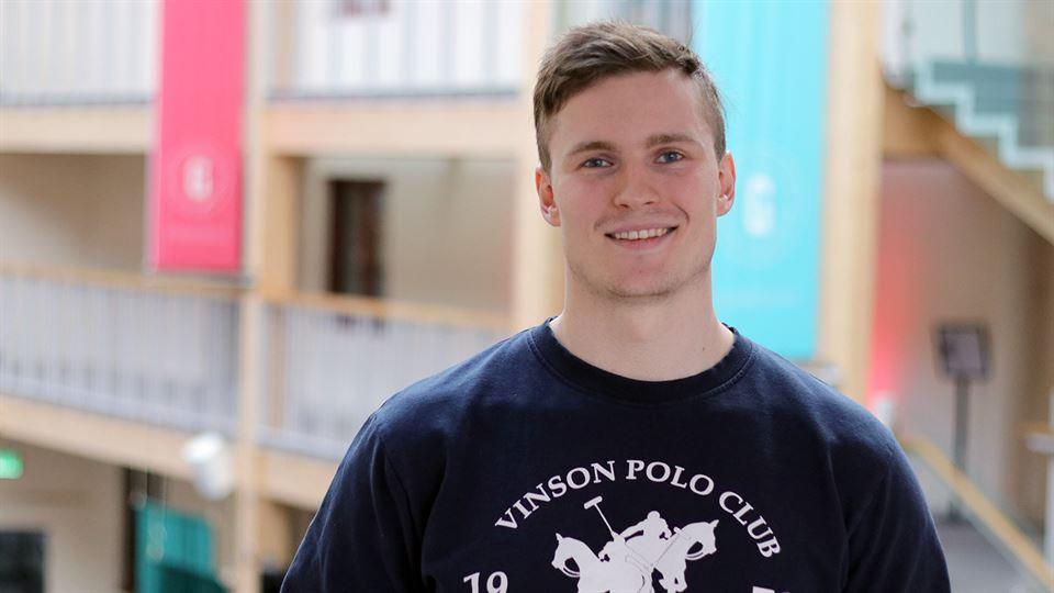 Linus Eriksson, student elektroteknik