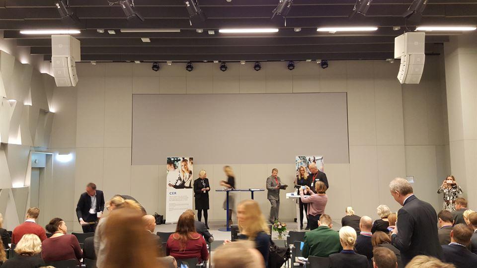 Bild från CER-dagen 2016 i Stockholm
