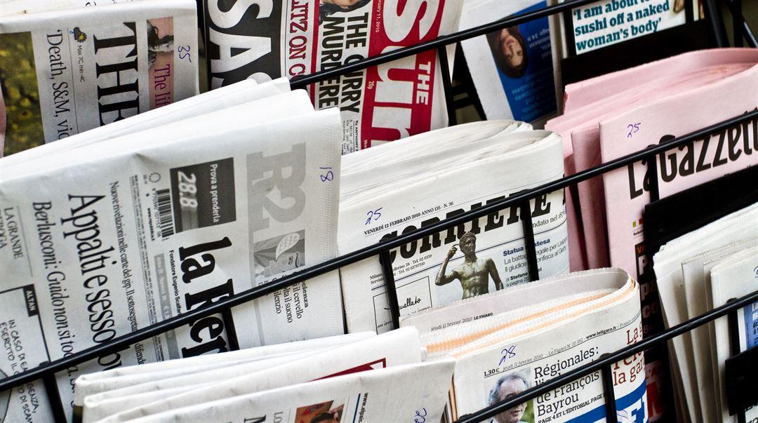 Utländska tidningar