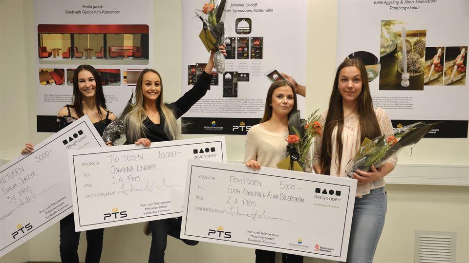 Finalisterna i Design Open 2017
