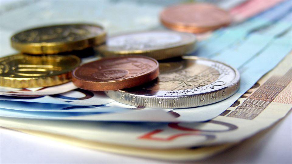 Mynt och sedlar Euro