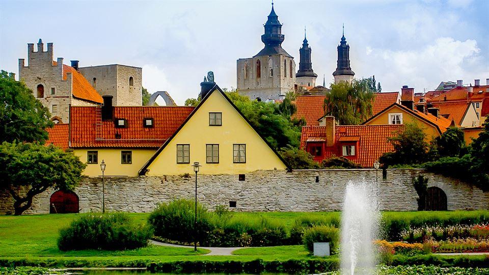 Almedalen Visby