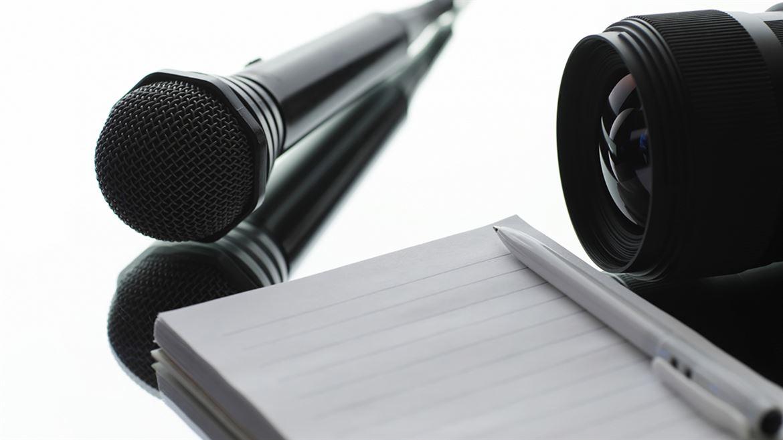 Mikrofon kameralins block