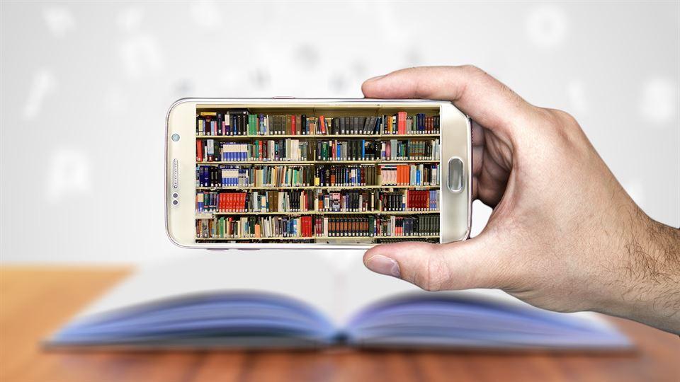 e-böcker, böcker, smart phone