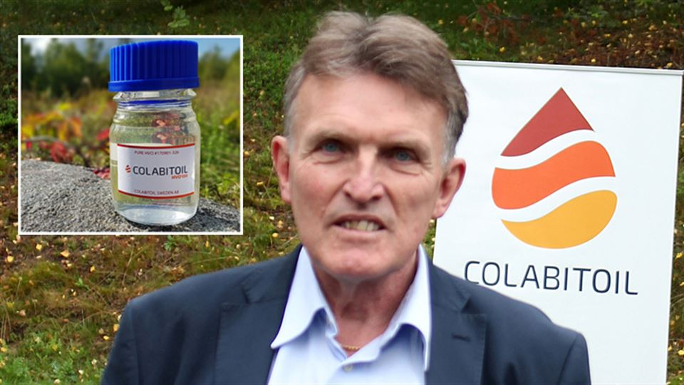 Jan Nordlöf, vd Colabitoil
